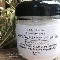 Organic Powder Deodorant - Lavender Patchouli - Handmade Creation