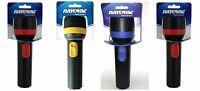 12 - Rayovac Value Bright 2d Economy Flashlights - 9 Lumens - Uses 2 D Batteries
