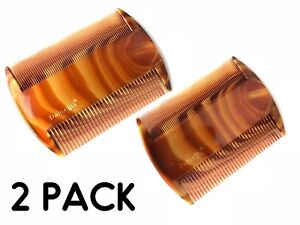 2 Head Lice Treatment Comb Kids Nit Hair Flea Egg Removal 2 Sided