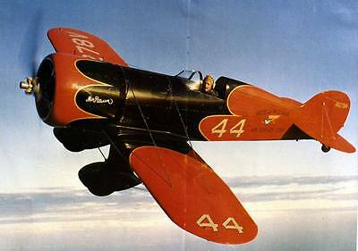 Wedell-Williams Racer #57 Airplane Old Photo
