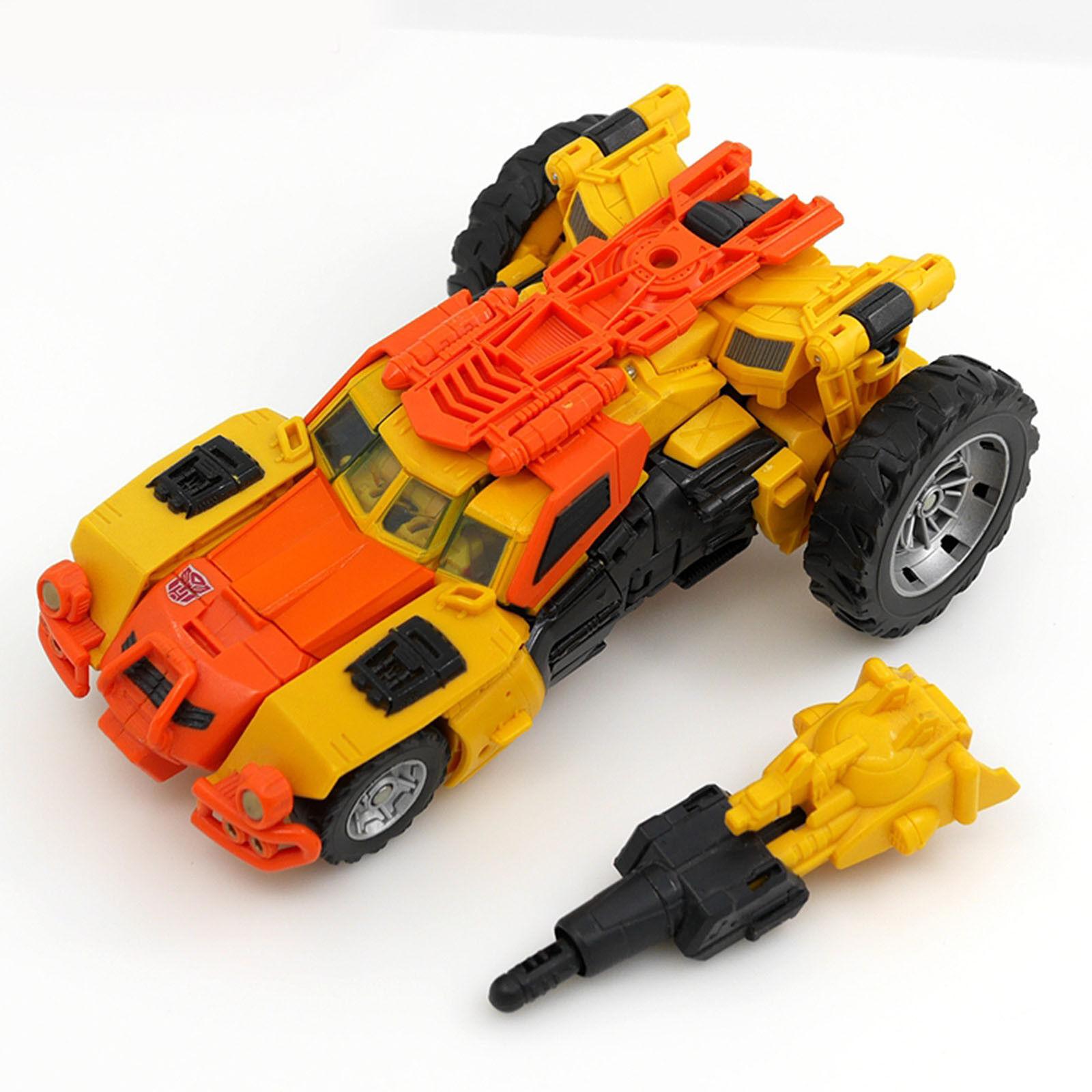 Transformers Generations IDW Voyager Class Sandstorm Triple changeur chrismas neuf