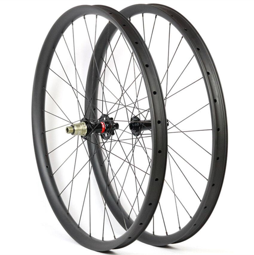 Carbon MTB Wheels Tubeless Compatible Mountain Bike Wheelset Novatec D791 792 XD