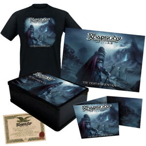 RHAPSODY-OF-FIRE-The-Eighth-Mountain-Boxset-incl-T-Shirt-L-884860259422