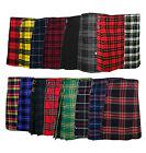New Men's 5 Yard Scottish Kilts Tartan Kilt 13oz Highland Casual Kilt 16 Tartans