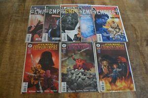 Star-Wars-Empire-1-2-5-7-8-Crimson-Empire-2-4-Dark-Horse-Comics-Lot-of-8