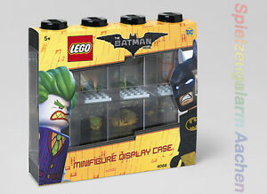 LEGO The Batman Movie Vitrine Minifiguren Schwarz 8 MINIFIGURE DISPLAY CASE