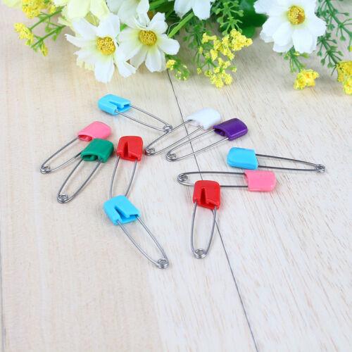 Hotsale 20pcs Safety Locking Baby Cloth Nappy Diaper Craft Pins WTKH