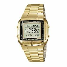 Casio DB-360GN-9A Mens Water Resistant Databank Classic Gold Watch DB-360GN-9AEF