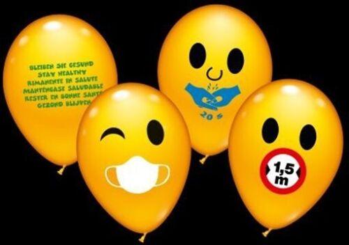 Luftballon Corona Tipps 30 Stück 28-30cm Durchmesser Top-Heliumqualität