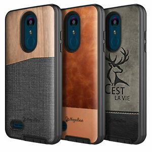 huge selection of 97b2f 7383f Details about For LG Fortune 2/Rebel 3/Risio 3/Tribute Dynasty/Aristo 2  Shockproof Phone Case