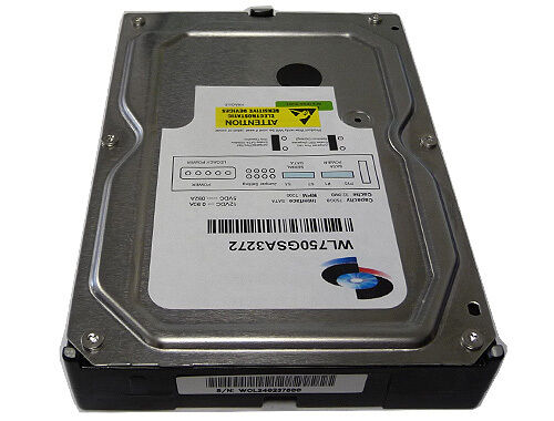 "New 750GB 7200RPM [32MB Cache] SATA 3.0 Gb/s 3.5"" Hard Drive (DVR/CCTV/PC/Mac)"