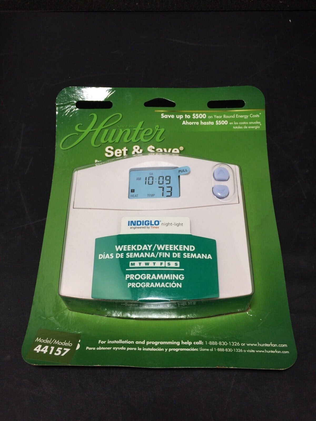 Hunter Model 44860 Wiring Diagram 44132 Set Save Programmable Thermostat Ebay Com Manuals 1200x1600