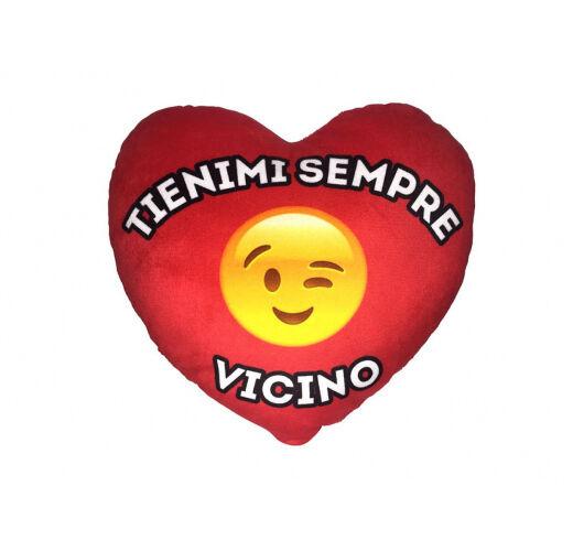 2019 úLtimo DiseñO Cuscino Cuore Peluche Faccine San Valentino Tienimi Sempre Vicino Cod. 6354