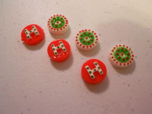 6 Beads HO HO HO BEADS
