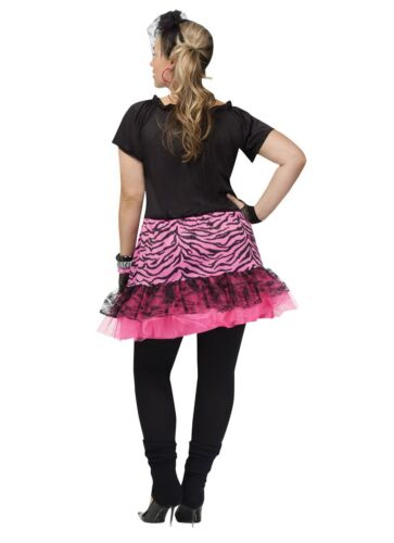 16W-20W 80/'s 80s Pop Party Cyndi Lauper Madonna Plus Size Adult Costume