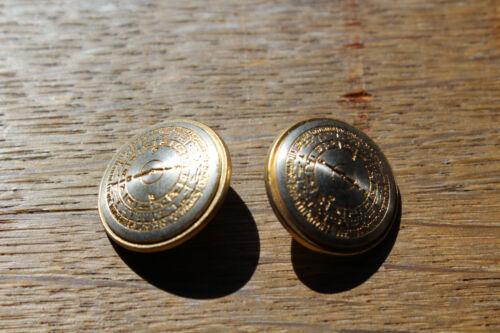 14 St münzknöpf metal botón blazer oro 20,3 mm sólida ejecución 5,3 gramos