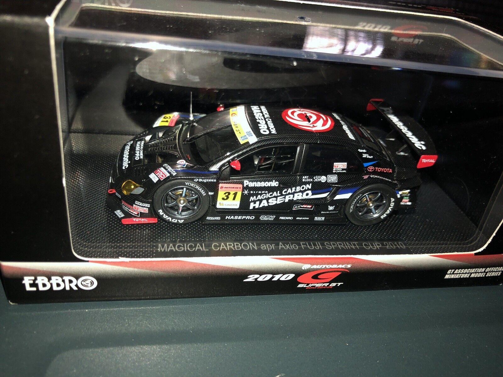 Ebbro 44434 1 43 Cochebono mágico apr Axio Fuji Sprint Cup 2010  31