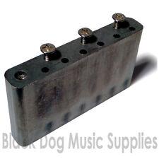 Guitar tremolo block solid steel including screws 52.5 string spacing