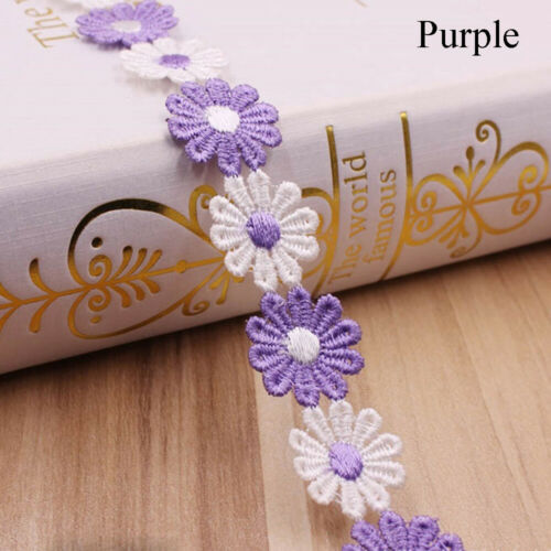 Ribbon Tassel Apparel Fabric Water Soluble Lace Sewing Accessories Lace Trim
