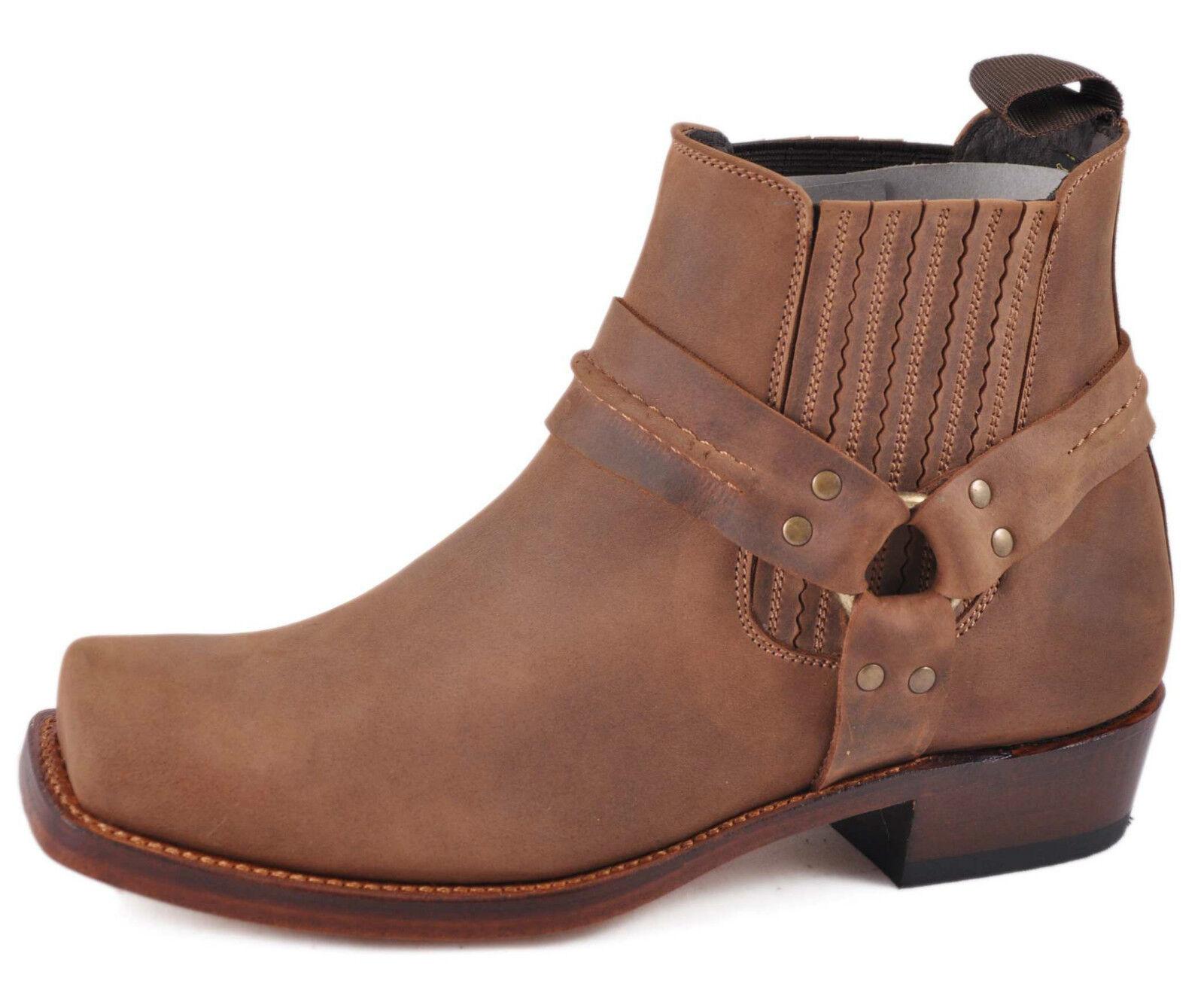 botas Cowboy Tobillo Tobillo Cowboy Unisex Estilo Mayura 004 Negro, Marrón UE tamaño 41, 46 (Reino Unido 7, 11) 5a0f82