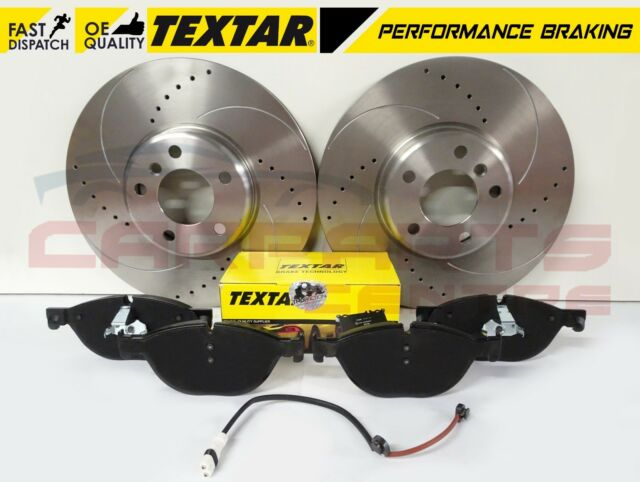 Fits BMW 3 Series E90 318d Genuine OE Textar Front Disc Brake Pads Set