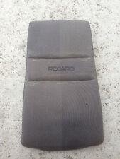 Genuine Keiper Recaro sedile anteriore schienale in schiuma con tessuto Materiale Panno