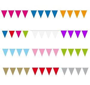3-m-mini-triangle-Pennant-15-Drapeau-Fete-Celebration-Decoration-Garland-Bunting
