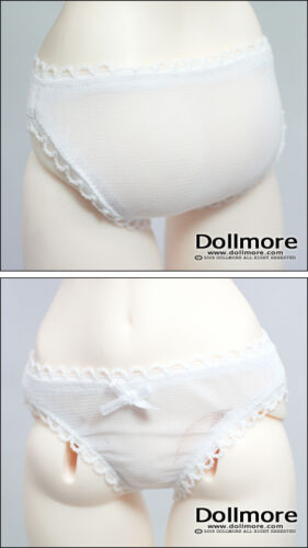 """Dollmore 26/"""" doll clothes Model Doll Size Gauzee White Girl panty"""
