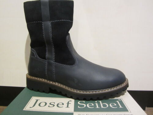 Seibel Men's Boots Winter Boots Boots Ankle Boot Black Leather 21927 NEW