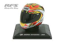 Helm - Andrea Dovizioso - SHOEI Helmet - Weltmeister 2004 - 1:5 AL 2004-AD-H27