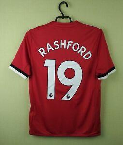 540e7a1f Manchester United jersey #19 Rashford 2017/2018 Home adidas football ...