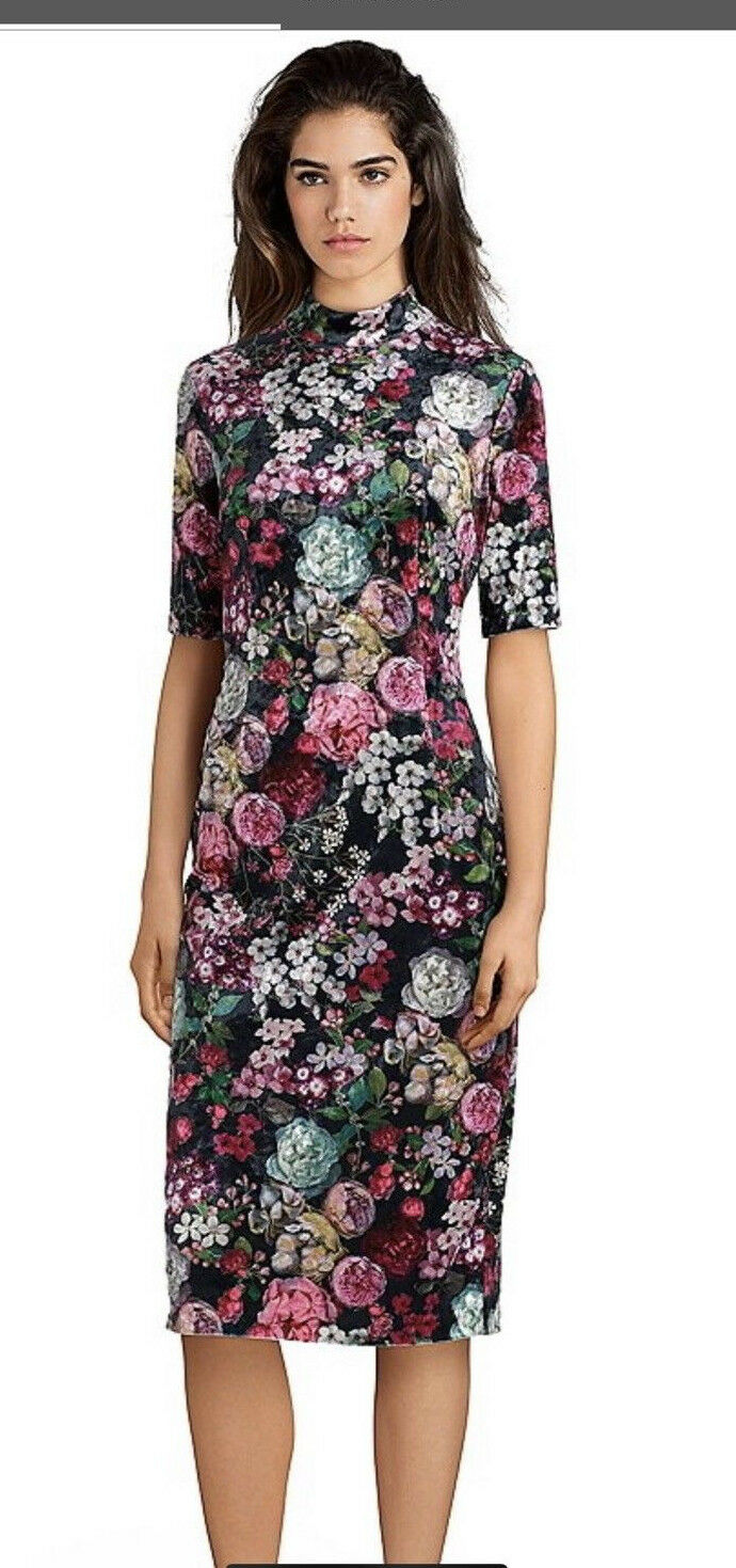 ADRIANNA PAPELL DRESS PLUS SIZE RETAIL SIZE 14W LENGTH 44  LINED NEW