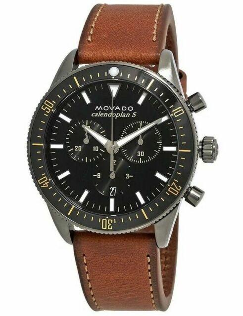 58ee1b516 Movado Men's Heritage Series Calendoplan S Chronograph Watch 3650060 ...