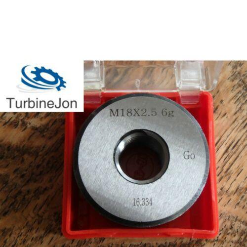 M14 x 1.5 Metric Plug // Ring Thread Gauges TJ Go // NoGo Left // Right Hand