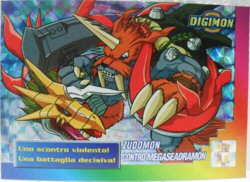 "/""ZUDOMON contro MEGASEADRAMON/"" 31//32 foil DIGIMON TRADING CARDS 2a SERIE"