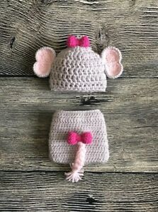 Crochet Newborn Elephant Outfit Baby Girl or Boy Safari | Etsy | 300x223