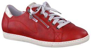 Red in donna con cerniera pelle Size alte Hawai da 4 5 Wide Mephisto Sneakers Uk CoeQrxWdB