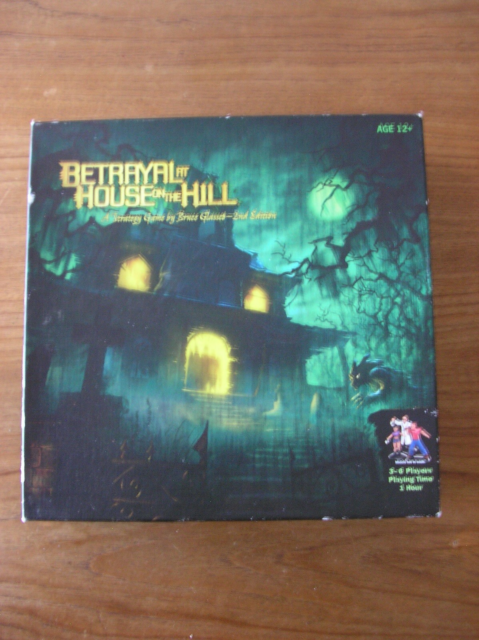 Betrayal at The House on The Hill, brætspil, for 3-6…