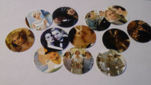 Pre Cut One Inch Bottle Cap Images Downton Abbey Actors Free Shipping