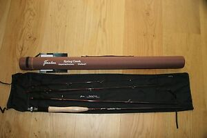 Flextec spring creek trout fly fishing rod 10ft aftm 6 7 for Fishing rod hard case