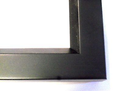 "1"" Rainbow Black Wood Picture Poster Frame-Custom Standard Sizes"
