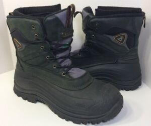 18ff43ae30d Details about KAMIK Mens PEDIGREE 3 Waterproof Winter Pac Boots (Insulated  to -40 F) Size 14