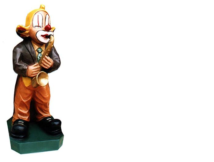 Design Pagliaccio Statua Scultura Statue Sculture Decorazione Deco 5013 Nuovo