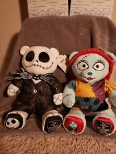 NEW! Build A Bear Nightmare Before Christmas Jack and Sally with Music.
