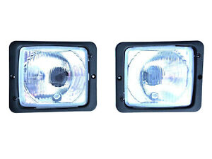 2x Phares 172x142 R2 Source Distante Position Lumière Feux De Croisement Tracteur Zetor-afficher Le Titre D'origine
