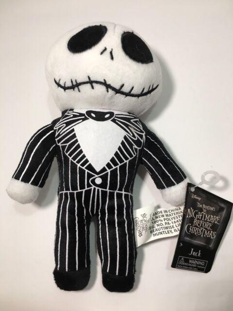 disney the nightmare before christmas jack skellington 9 stuffed plush toy nwt