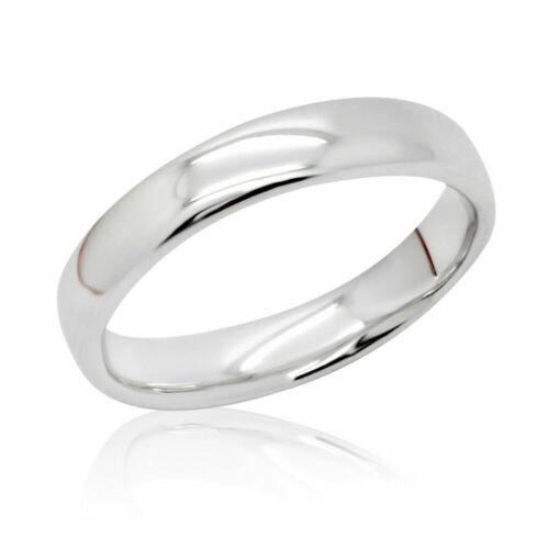Ring Schlicht 5mm 925er Sterling Silber Rhodiniert Gravur Bandring Damen Herren