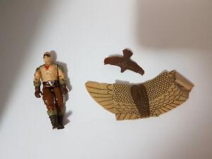 Raptor-v1-GI-Joe-1987-3-75-034-Vintage-Hasbro-Action-Figure-Loose-w-Accessories