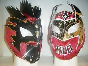 Kalisto-amp-sin-cara-Nino-Infantil-Cabeza-Mascara-de-Lucha-WWE-Disfraz-Cosplay