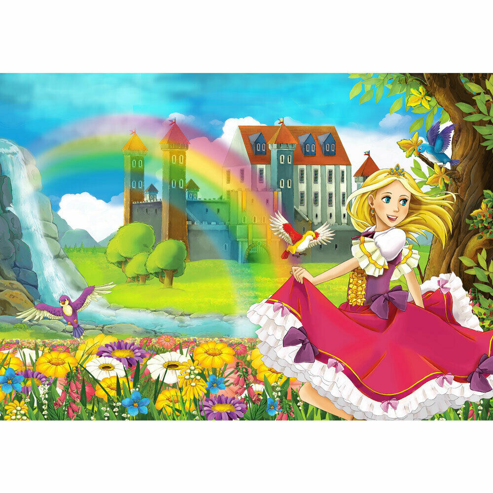 Vivero de Fondo de Pansize de Foto Cuento Hada Elfos Märchenland Princesa N°114